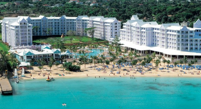 Riu Ocho Rios resort - aerial view