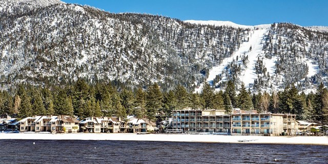 Tahoe Lakeshore Lodge and Spa - view from Lake Tahoe