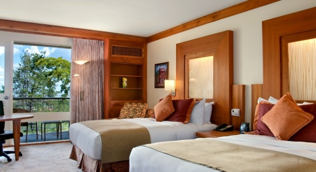 Guest room at Hilton Trinidad and Conference Centre