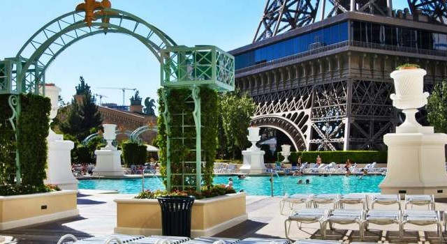 Soleil pool at Paris Las Vegas