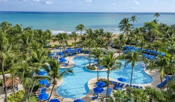 Pool view at Wyndham Grand Rio Mar Beach Resort