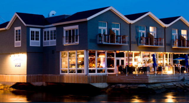 The Boathouse Waterfront Hotel in Maine
