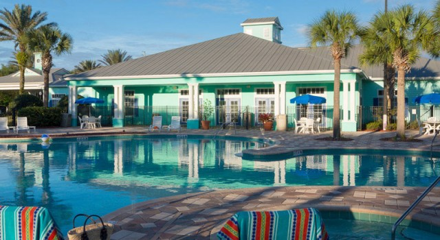 Pool view at Festiva Orlando Resort