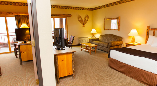 Suite at Great Wolf Lodge