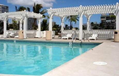 Pool at Hawaiian Monarch Hotel