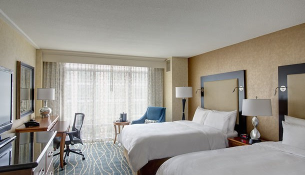Guest Room at Seattle Marriott Waterfront