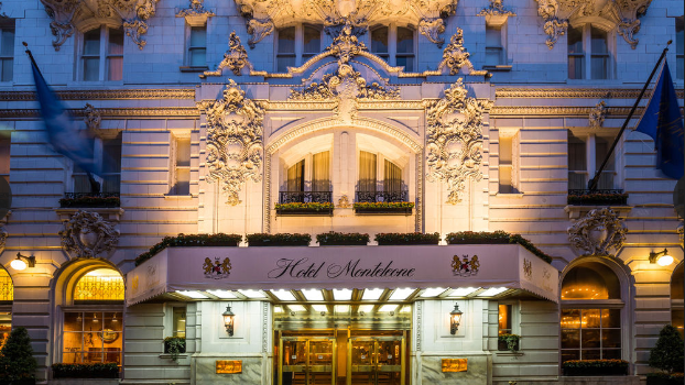 Hotel Monteleone in New Orleans - exterior view