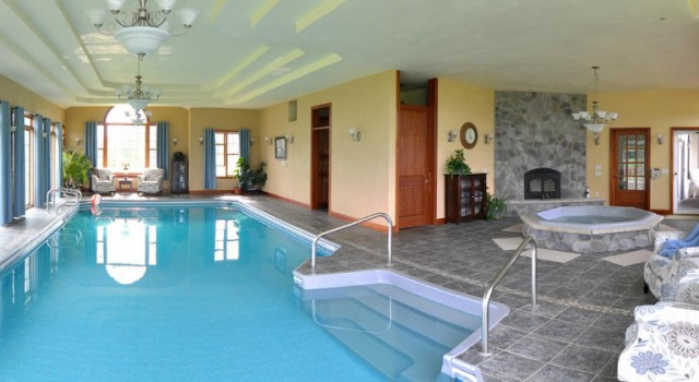 Pool at Stone Edge Estate Bed and Breakfast