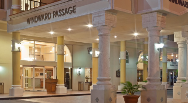 Windward Passage Hotel - entrance view