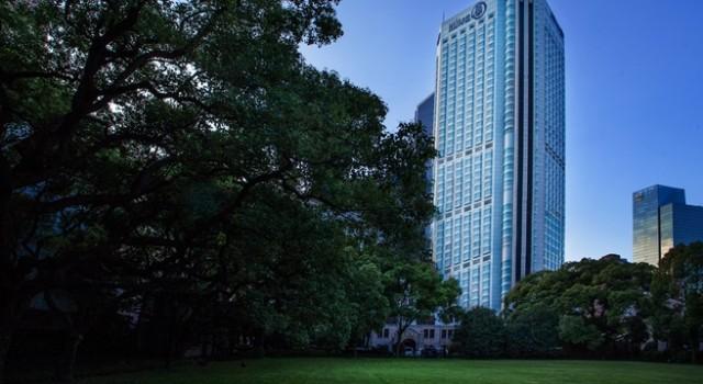 Hilton Shanghai hotel - exterior view