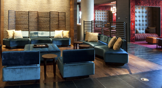 Lobby at Ink48, a Kimpton Hotel