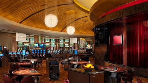 Casino at the Red Rock Hotel in Vegas