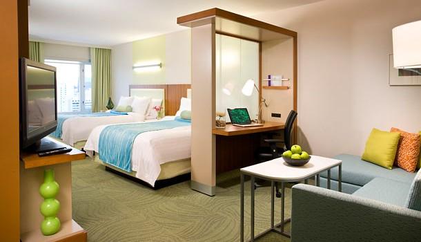 Suite at SpringHill Suites Las Vegas Convention Center