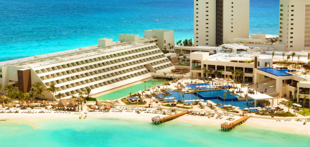 Hyatt Ziva Cancun beach resort