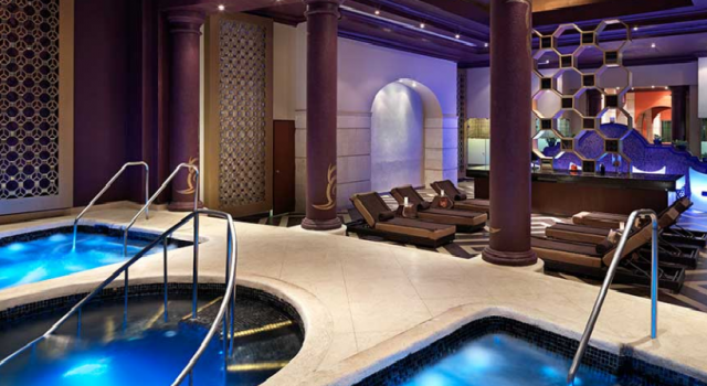 The spa at Hard Rock Hotel