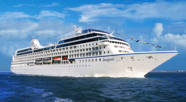 Insignia cruise ship by Oceania Cruises