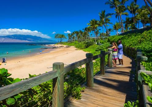 Maui beach view