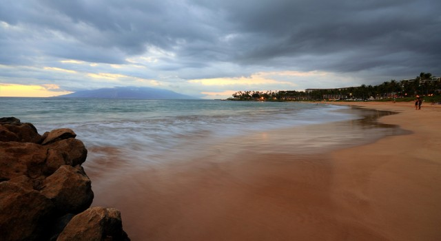 Beach view on Maui