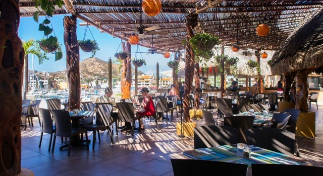Restaurant at Marina Fiesta Resort