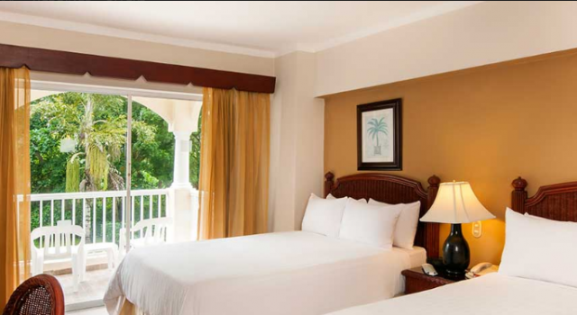 Double room at Occidental Caribe hotel