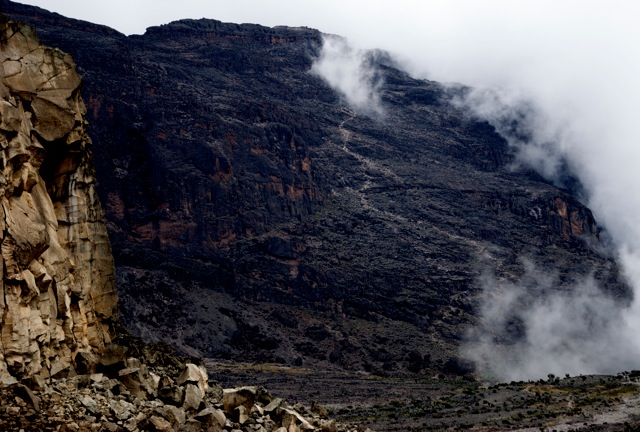 Atop Kilimanjaro