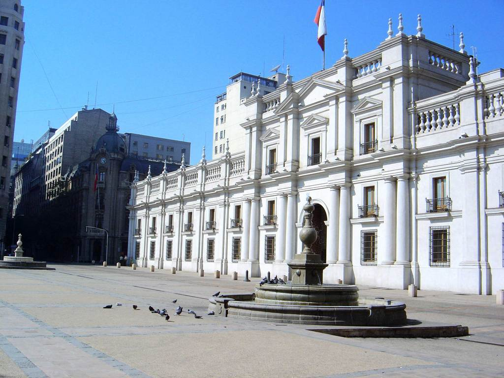Chilean Presidential Palace is The Presidential Palace