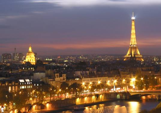 Paris the city of love of great cuisine and wonderful works of art