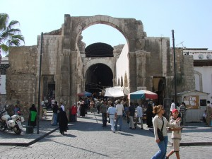 Souq in Damascus